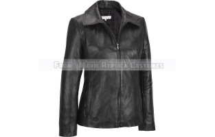 WOMEN'S COAT STYLE FASHION LEATHER JACKET
