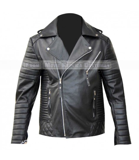MARVELOUS DESIGNER BIKER LEATHER JACKET