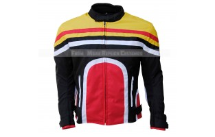 TEMPEST TEXTILE MOTORCYCLE JACKET MULTI COLOR