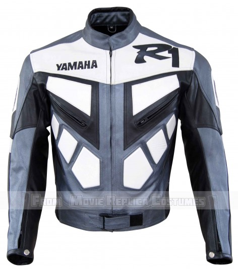 MEN'S MOTO GEAR YAMAHA LEATHER JACKET