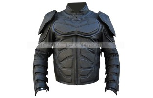 DARK KNIGHT RISES MOTORCYCLE LEATHER JACKET COSTUME