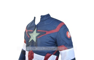 AVENGERS AGE OF ULTRON CAPTAIN AMERICA' STEVE ROGERS (CHRIS EVAN) JACKET SAN MARINO