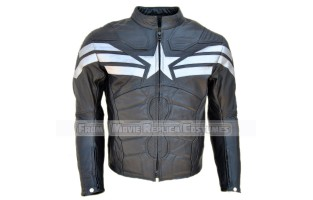 THE WINTER SOLDIER CAPTAIN AMERICA' STEVE ROGERS (CHRIS EVAN) LEATHER JACKET ZAMBEZI