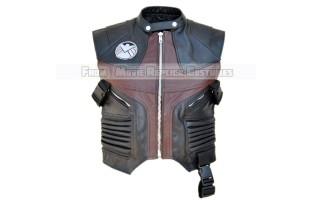 HAWKEYE'S CLINT BARTON/ JEREMY RENNER LEATHER VEST