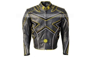 X-MEN: THE LAST STAND'S LOGAN / WOLVERINE HUGH JACKMAN LEATHER JACKET
