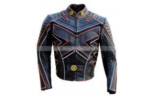 X-MEN: THE LAST STAND'S LOGAN / WOLVERINE HUGH JACKMAN LEATHER JACKET NEW EDITION