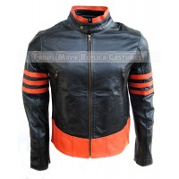 X-MEN: ORIGINS'S JAMES / LOGAN / HOWLETT / WOLVERINE HUGH JACKMAN LEATHER JACKET