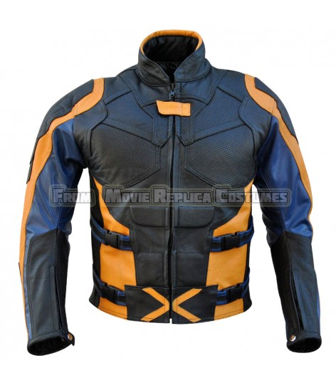 X-MEN: DAYS OF FUTURE PAST'S LOGAN / WOLVERINE HUGH JACKMAN LEATHER JACKET