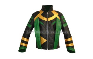 THOR: THE DARK WORLD'S LOKI (TOM HIDDLESTON) STYLE COSTUME LEATHER