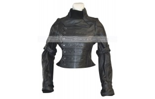 CAPTAIN AMERICA FILM SERIES BUCKY BARNES (SEBASTIAN STAN) LEATHER JACKET