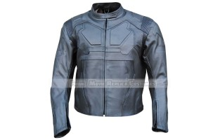 OBLIVION'S JACK HARPER (TOM CRUISE) BLACK LEATHER JACKET