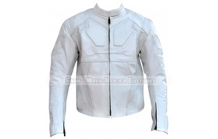 OBLIVION'S JACK HARPER (TOM CRUISE) WHITE LEATHER JACKET