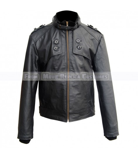 MEN'S COOL HIDES FASHION RAID TOP QUALITY REAL LEATHER JACKET