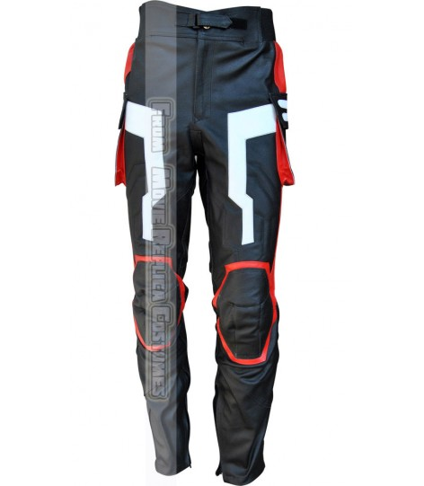 AVENGERS AGE OF ULTRON CAPTAIN AMERICA' STEVE ROGERS (CHRIS EVAN) LEATHER PANT BRIGHT GREY
