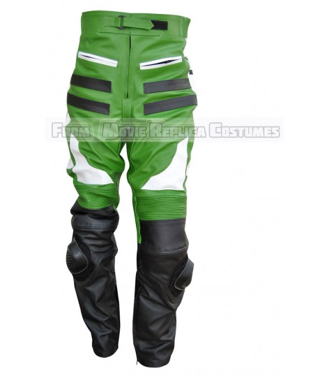 KAWASAKI MEN MOTO GEAR TRACKSUIT LEATHER PANT